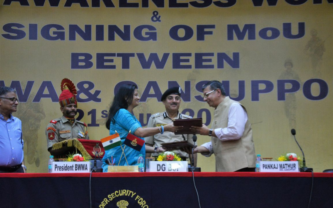 MoU between CanSupport and BSF